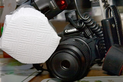 DIY Flash Diffuser for Macro Photography Made from Coco Cola Cans