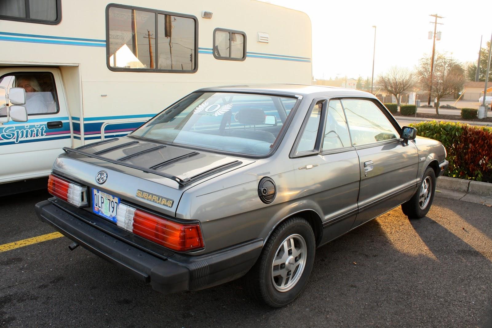 1983 Subaru GL-10 coupe