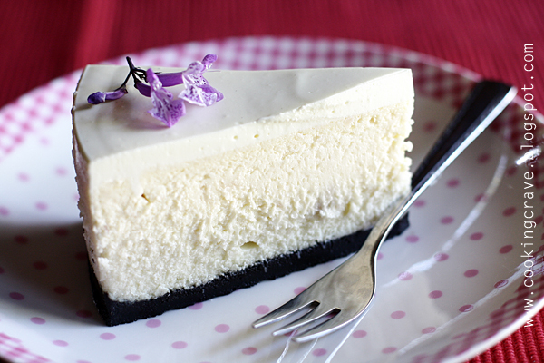 Cooking Crave™: Yam Cheesecake (Or Nee Cheesecake)