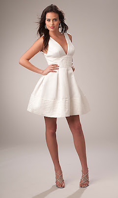 Carrie Underwood Inspired White Party Dress