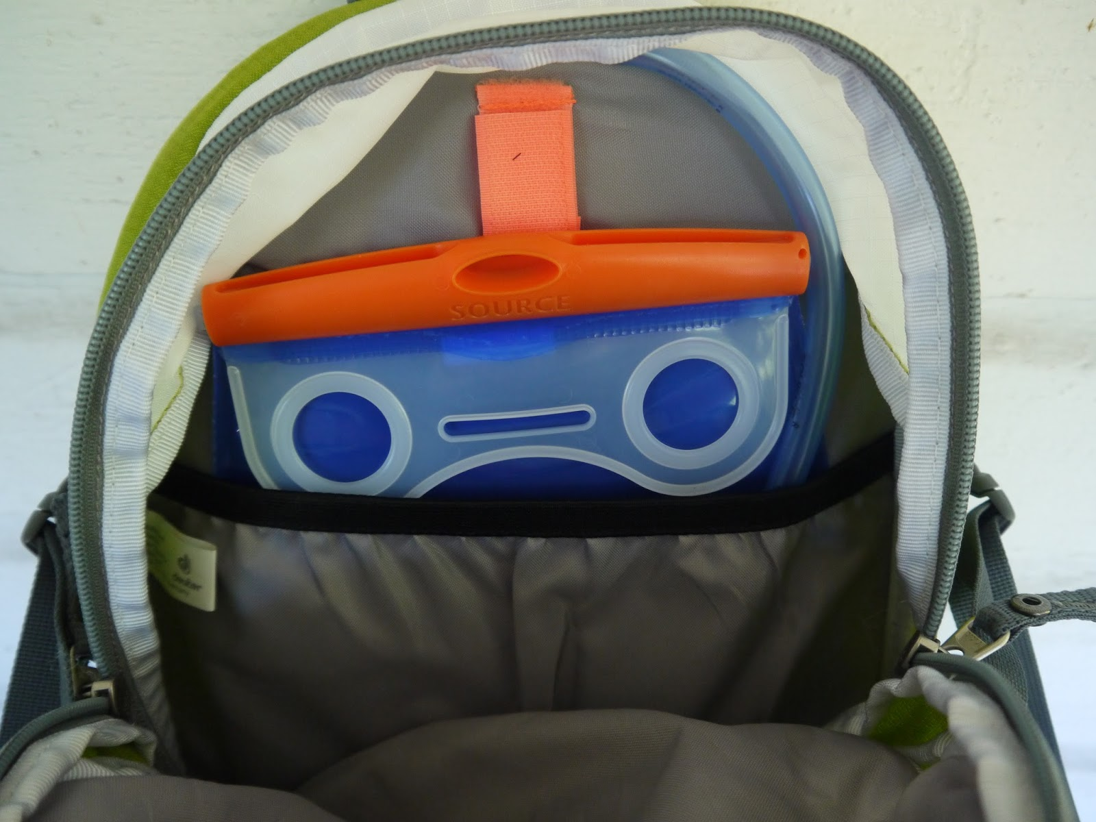 Hope's Cafe: Instant Hydration With Deuter Hydration Back Pack!