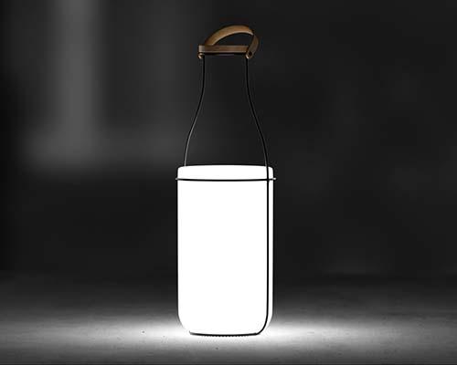 Una lampada che si ispira al passato