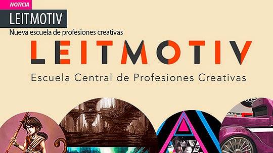 Leitmotiv, nueva escuela de Profesiones Creativas
