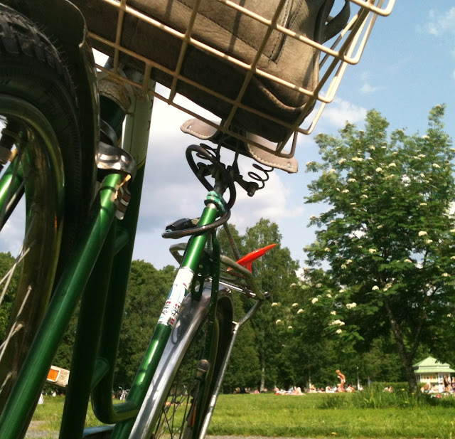 terässiipi retro vintage bike polkupyörä joonas oegland