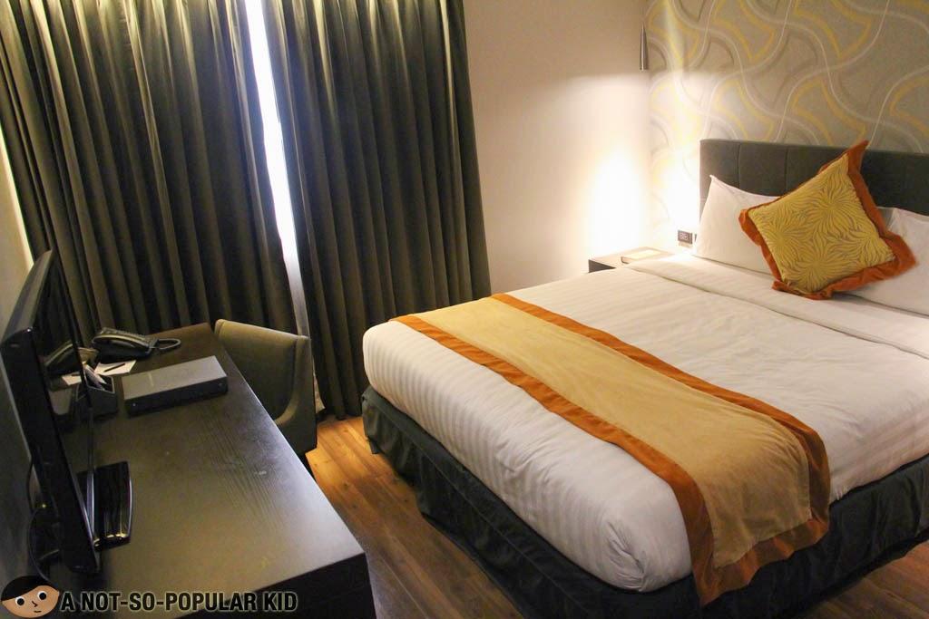 F1 Hotel Manila's cozy and comfy room interior