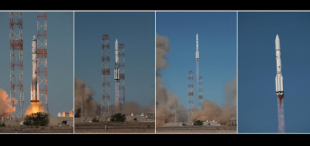 ILS launches Proton-M rocket with the Inmarsat-5 F3 satellite. Credit: ILS