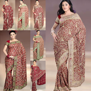 DESIGNER WORK ART CRAFT SAREE