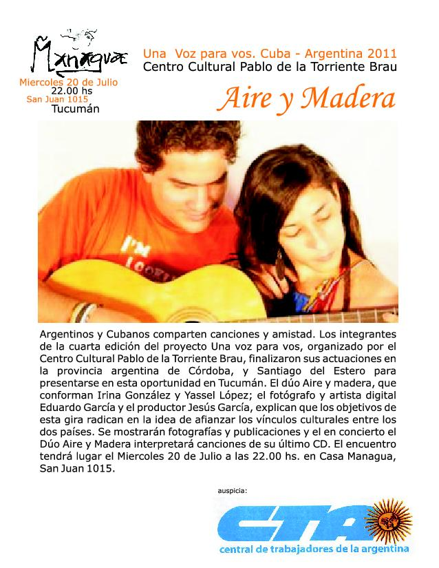 La CTA Tucumán y la cultura Musical