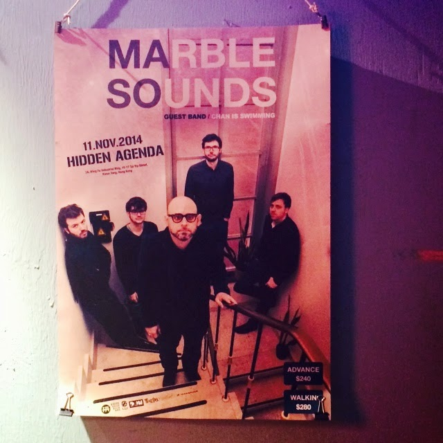 Marble Sounds Concert in Hong Kong at Hidden Agenda