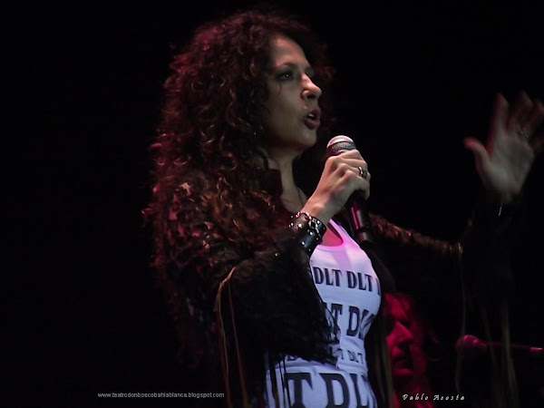 Patricia Sosa en Bahía