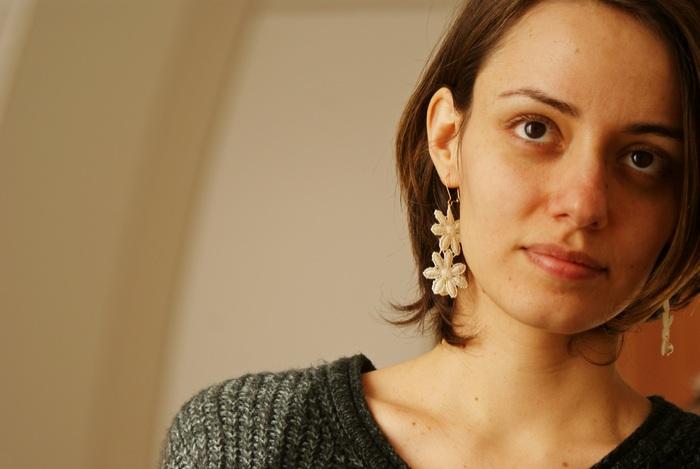 orecchini diy pizzo perle matrimonio