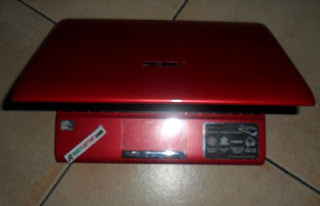 Asus Eee PC FLare Series 1025C Red