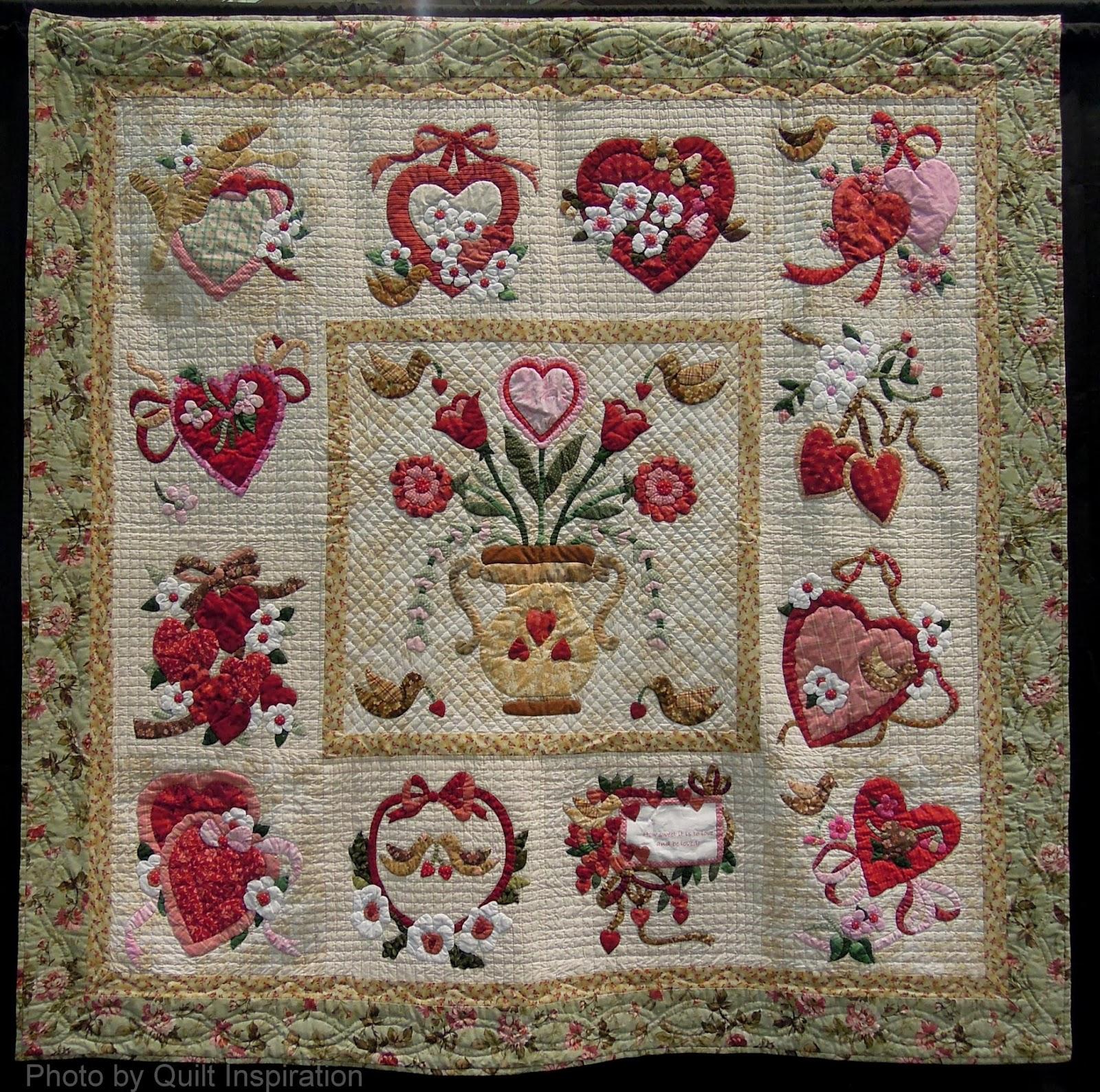 Happy Valentine S Day Quilt Inspiration Bloglovin