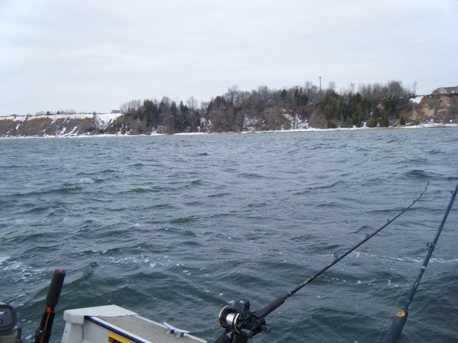 Wisconsin fishing reports ice out brown trout for Ice fishing reports