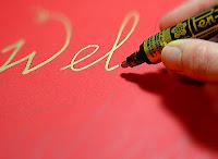 Gouden Sakura Pen-touch Kinderknutselen voor Sinterklaas