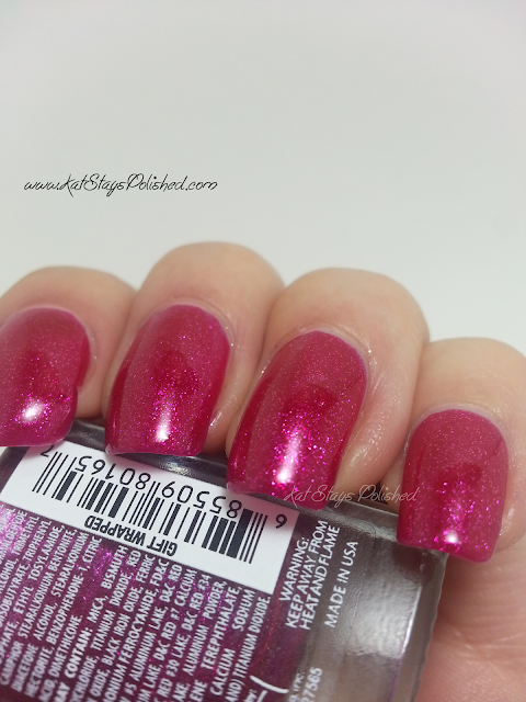 JulieG Nail Color - Gift Wrapped