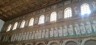 Ravenna, Basílica de San Apollinare Nuevo.