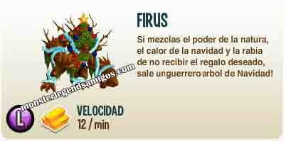imagen de la descripcion del monstruo firus