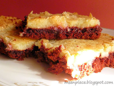 Red Velvet Cheesecake Bars: Ms. enPlace