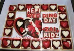 CHOC SET LOVE BOX ~ SIZE 'S' W 23 PRALINES & TEXT @RM 75