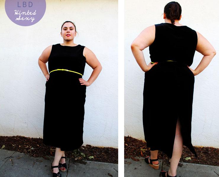 The Curvy Elle:Little Black Dress (Plus Size) - The Curvy Elle