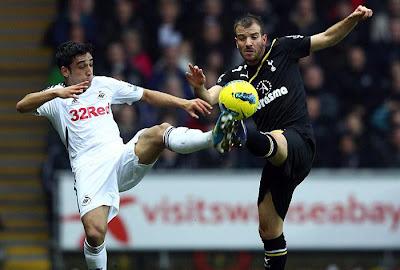Swansea City 1 - 1 Tottenham Hotspurs (2)