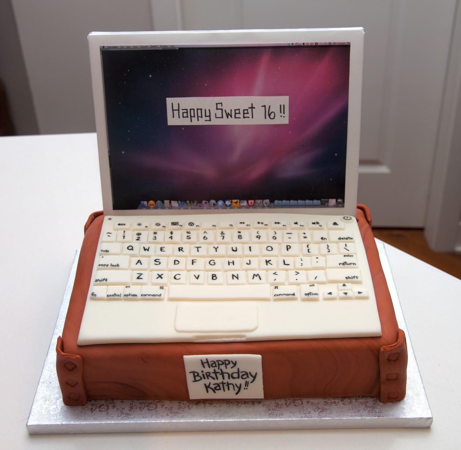 MacBook Cake | Love Your Cake