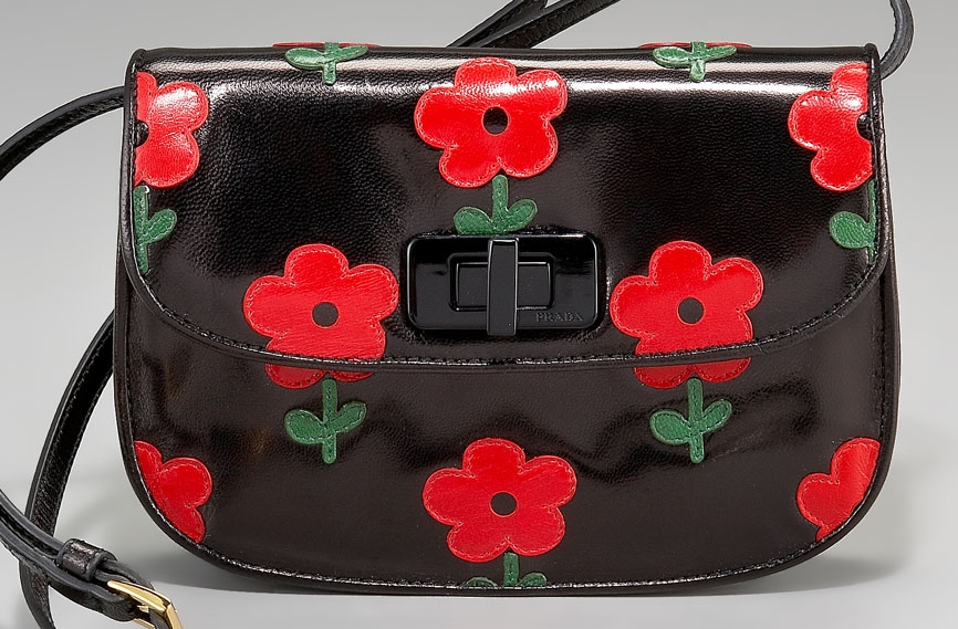 fake prada purses for sale - Want: Prada Red Flower Bag | The Non-Blonde