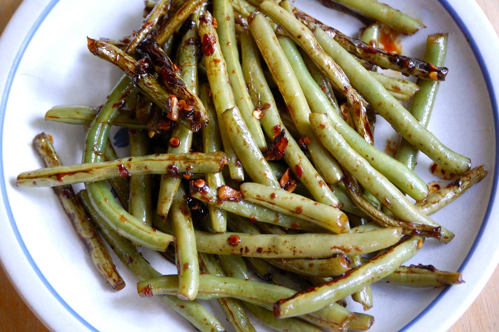 Heritage Schoolhouse: PF Chang's Style Spicy Green Beans