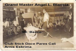 Grand Master Angel L. Blancia Club Stick