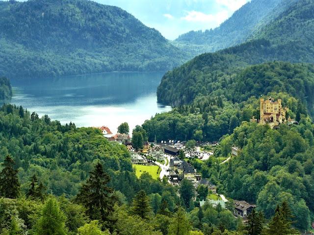 vistas desde neuchwanstein