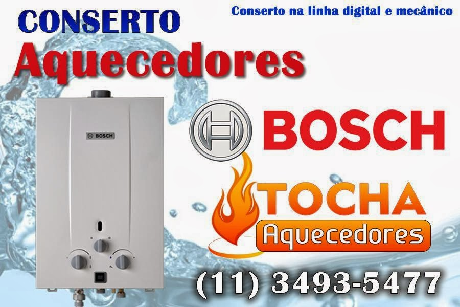 Conserto de Aquecedores Bosch