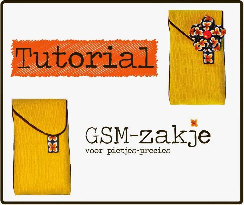 Tutorial gsm-zakje | gsm zakje naaien | gsm hoesje maken | GSM zakje maken | gsm hoesje maken