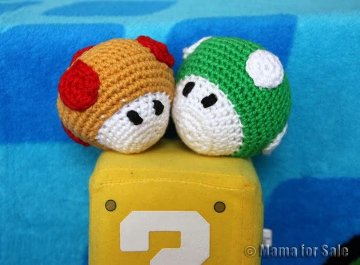 Mama for Sale: Amigurumi fur Super Mario Fans