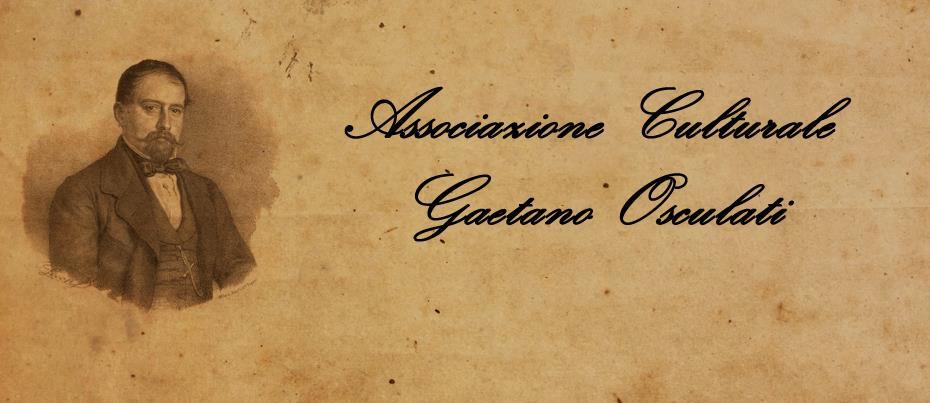 """Associazione culturale """"Gaetano Osculati"""""""