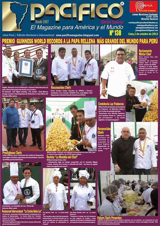 Edición Especial de la Revista Pacífico Nº 138