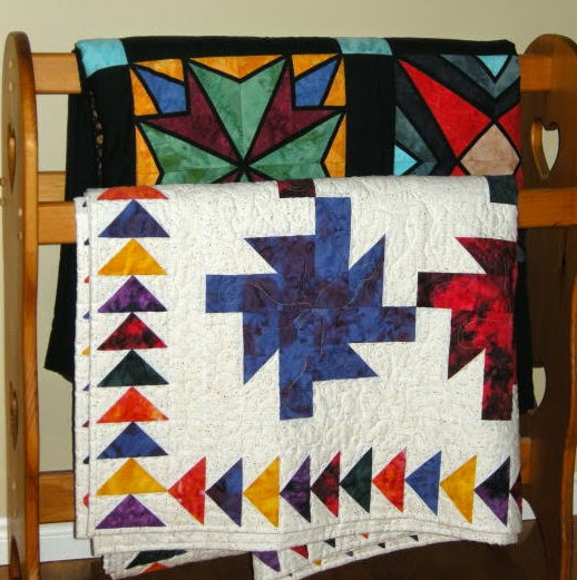 traditional quilts decorating with quilts