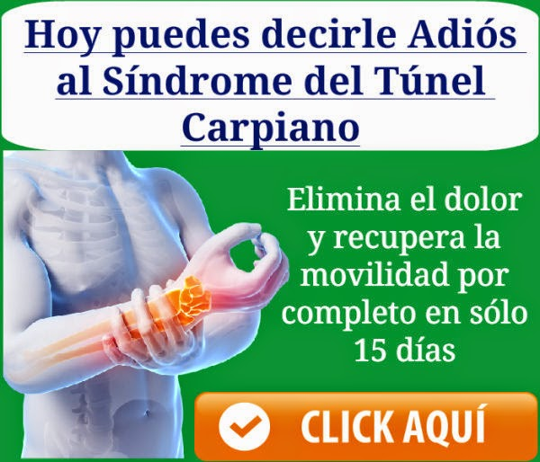 tunel carpiano tratamiento natural