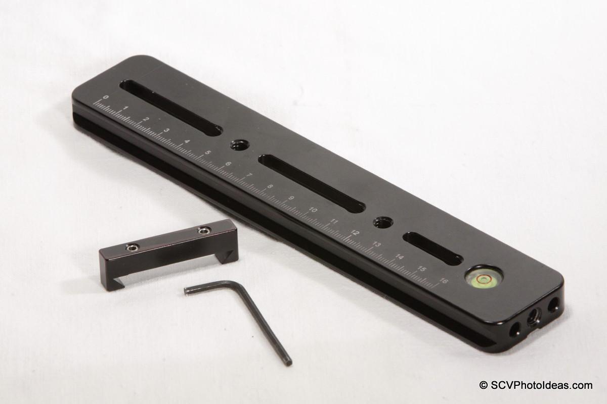 Hejnar Photo G13-80 rail + Index bar + key