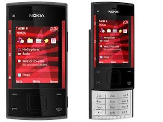 NOKIA X3-02 Harga Rp.1.600.000