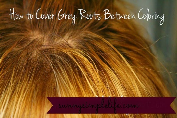 Sunny Simple Life: How to Cover Your Grey Roots Between Colorings