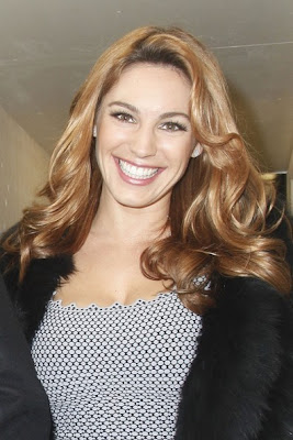 Kelly Brook Hairstyle