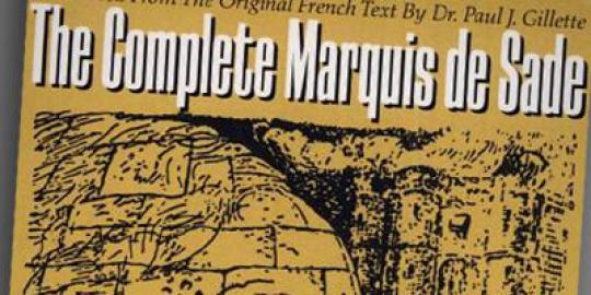 Various Titles by Marquis de Sade