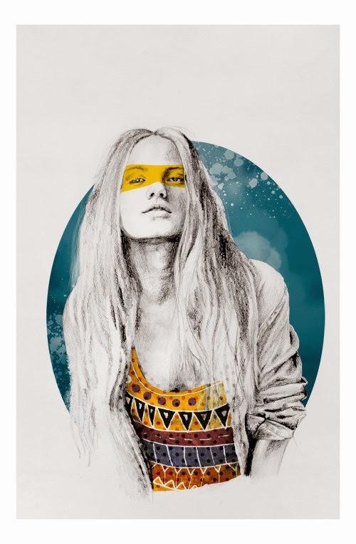Naranjalidad, Beatriz Ramo, ilustraciones, retratos