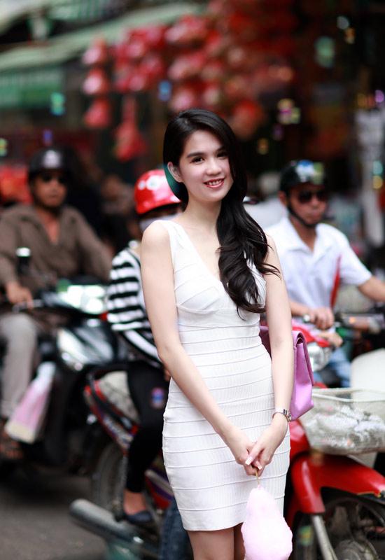Beauty Contest: Miss Vietnam International 2011,Ngoc Trinh.