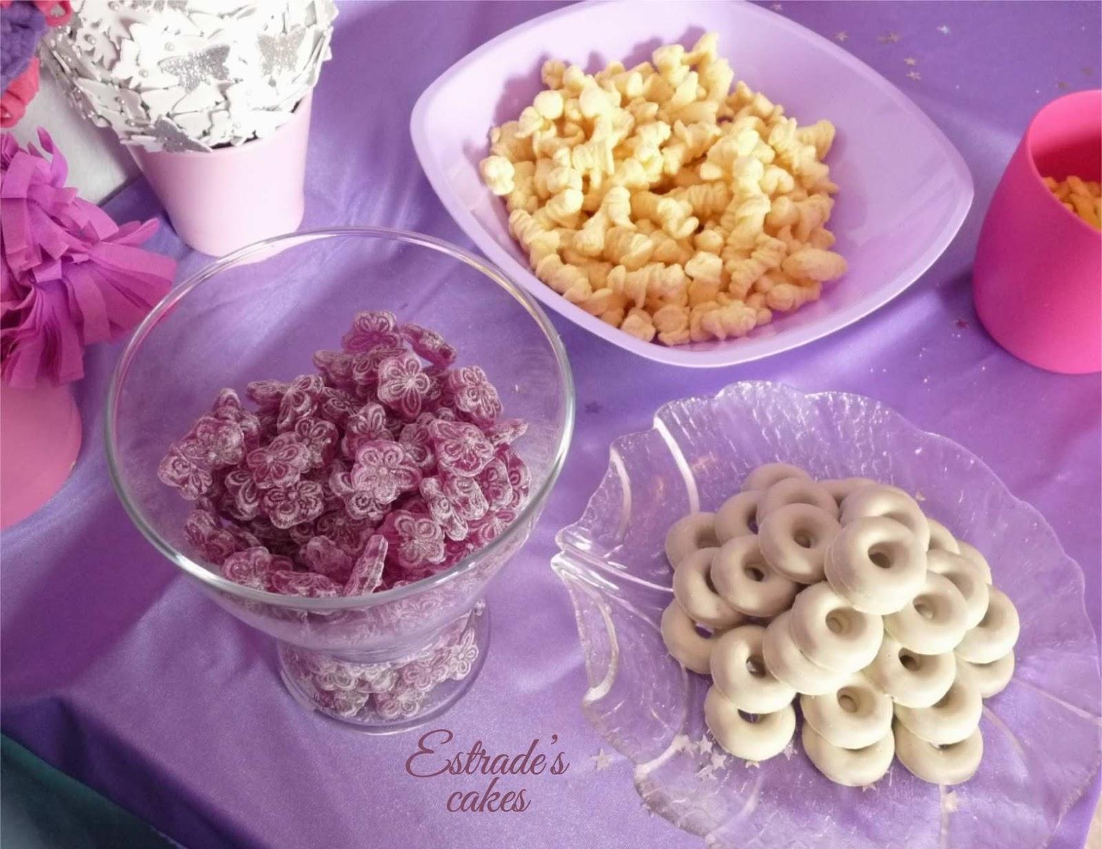 mesa dulce Violetta - violetas