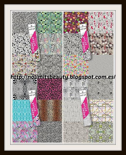Paper Print Manicure de Essence (4 tonos)