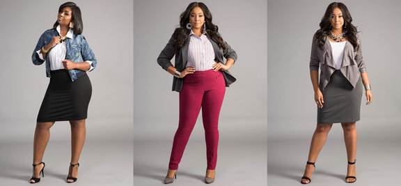 Ashley Stewart  #WorkIt collection
