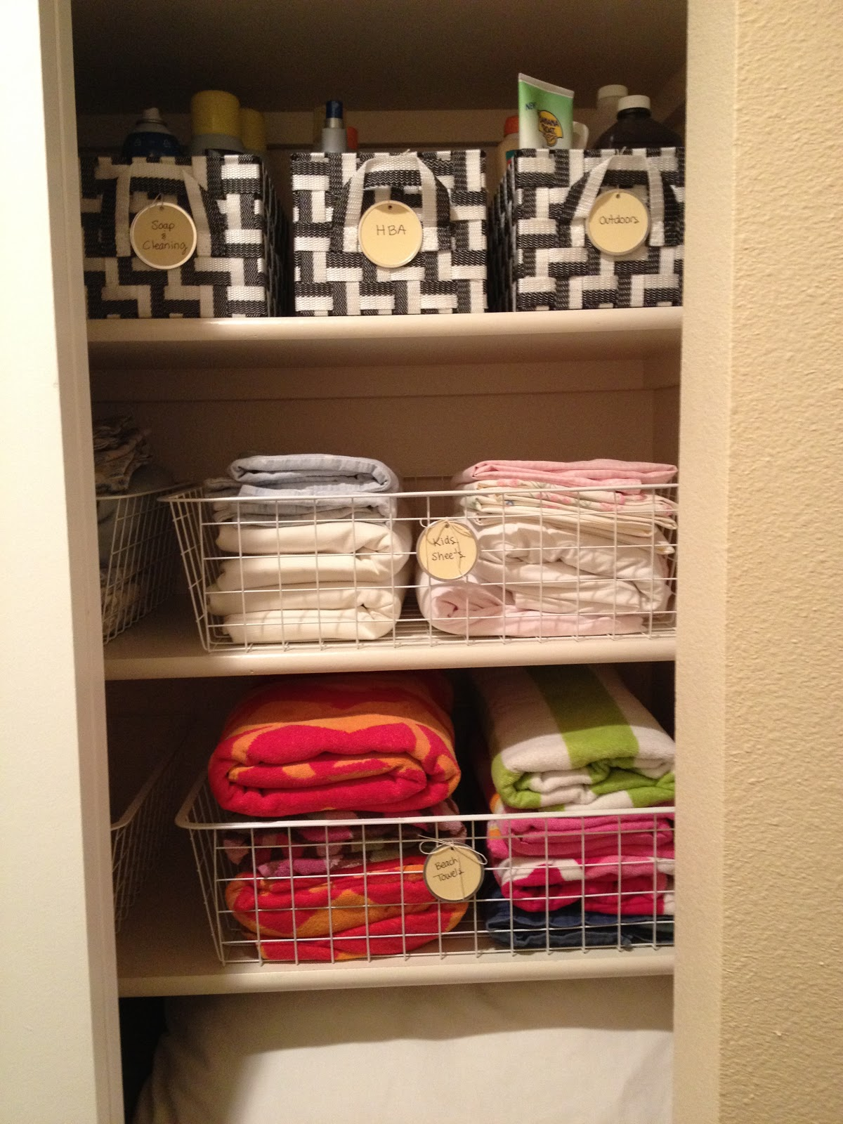 Organized Linen Closet Morganize With Me Morgan Tyree
