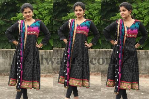Preeti Shankar Black Salwar Suit